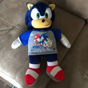 Sonic the hedgehog build a bear